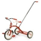 Radio Flyer Classic Red Tricycle w/Push Handle Kmart