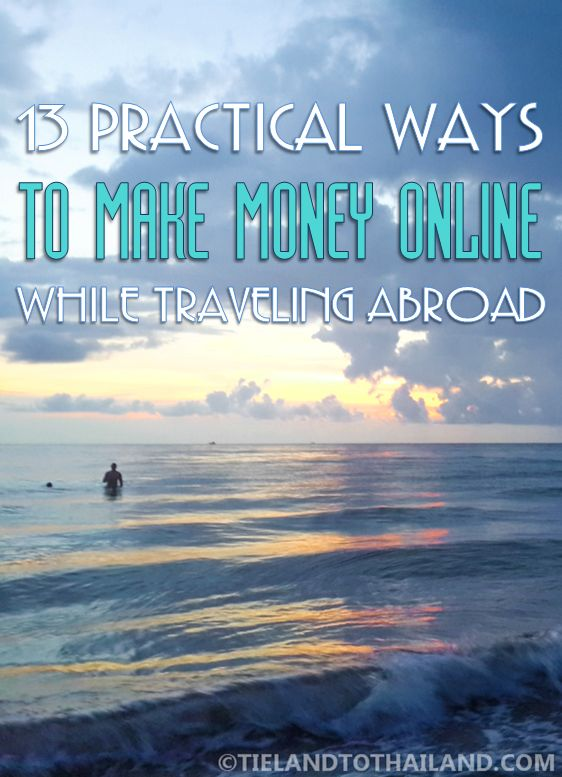 how to make money traveling in asia