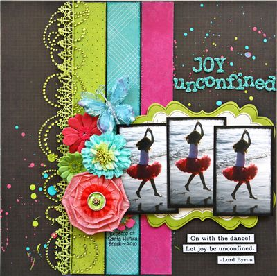 Joy unconfined by Stacy Cohen on Prima Marketing inc.