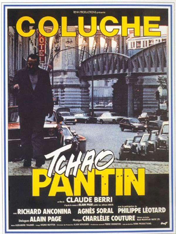 157g. Tchao Pantin de Claude Berri avec Cioluche, Richard Anconina et Agnès Soral.
