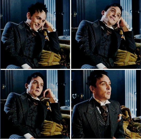 Oswald: *totally NOT smiling*