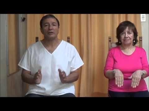 Ejercicios Basicos para Adulto Mayor de 60 años Sano - YouTube