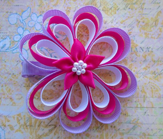 Baby hair bows. Hair bow for girls. Girls hair by BowBellaByMom, $8.49