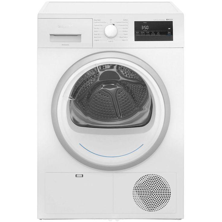 Siemens IQ-300 WT45H200GB Heat Pump Tumble Dryer - White