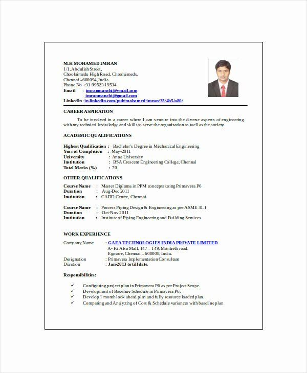 Mechanical Design Engineer Resume Beautiful 10 Mechanical Engineering Resume Templat Engineering Resume Templates Mechanical Engineer Resume Engineering Resume