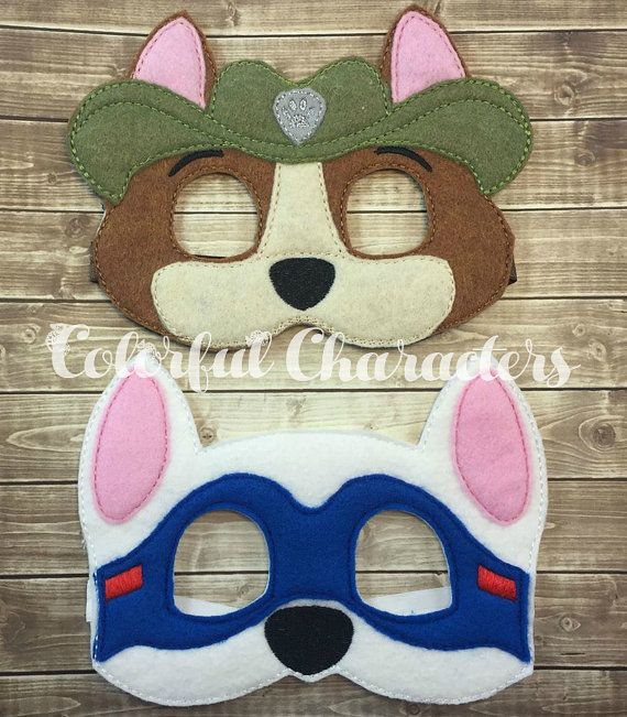 Price is per mask. these masks are perfect for kids for dress up/pretend play OR for Party favors. Dont forget to check out my listing for embroidered badges and Skye goggles! https://www.etsy.com/listing/482642455/paw-patrol-skye-goggles-vinyl-headbands?ref=shop_home_active_14