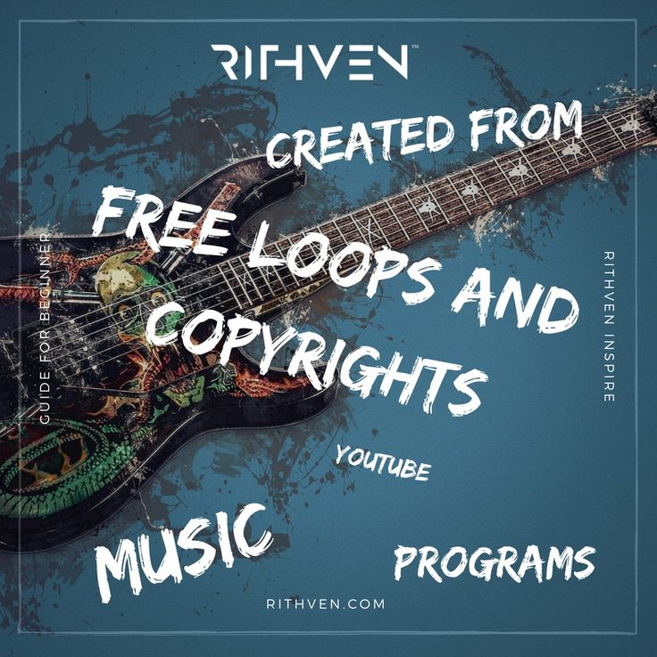 Music created from free loops and copyrights