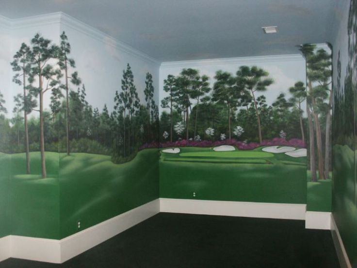 Office Golf Decorations | Golf Design} | Hirshfieldu0027s Color Club