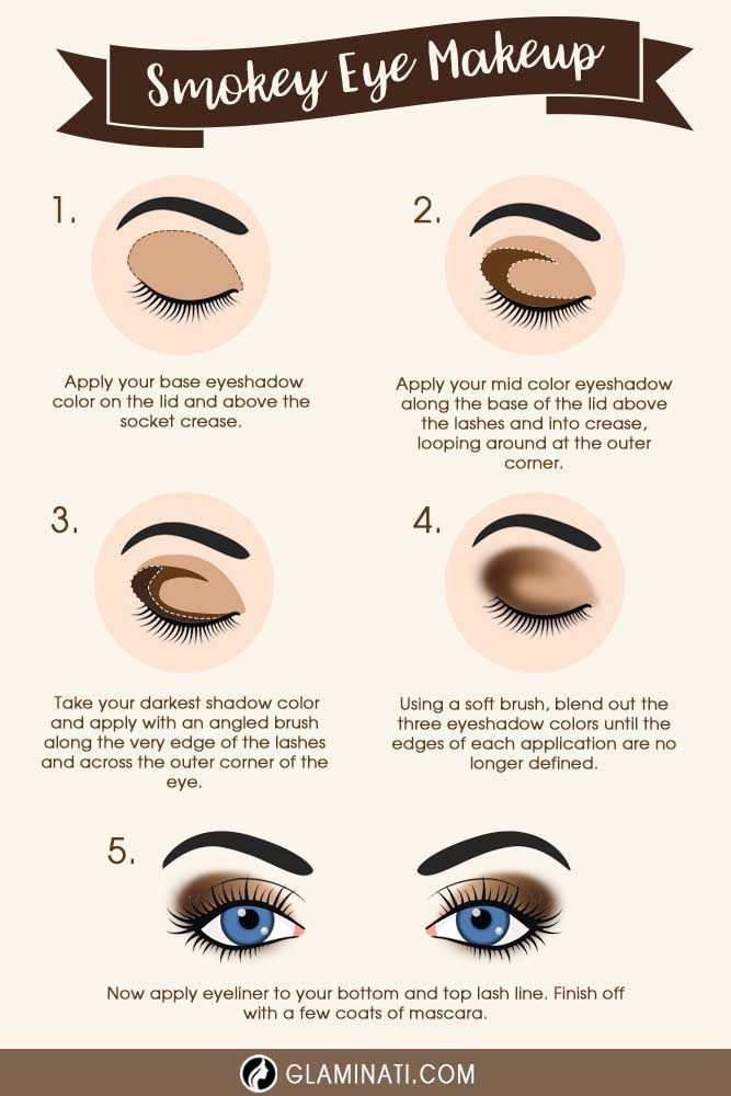 Try a smokey eye look if you are searching for something classic that suits all women and never goes out of fashion. It is an amazing choice for a night out.