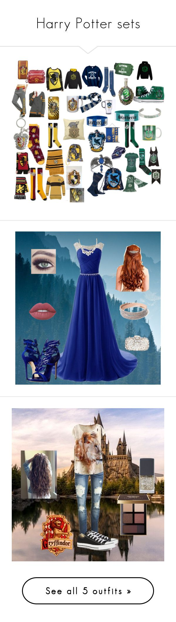 337 best images about harry and ginny on pinterest harry birthday -  Harry Potter Sets By Pentatonixfan24 Liked On Polyvore Featuring Warner Bros