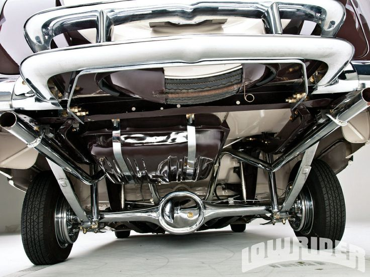 Chrome Undercarriage On Vintage Lowrider Lowrider Q Vo