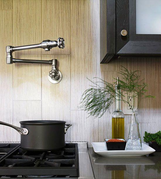 Ceramic Tile Backsplash Kitchen Ideas: 17 Best Images About Wood Tile Ideas On Pinterest
