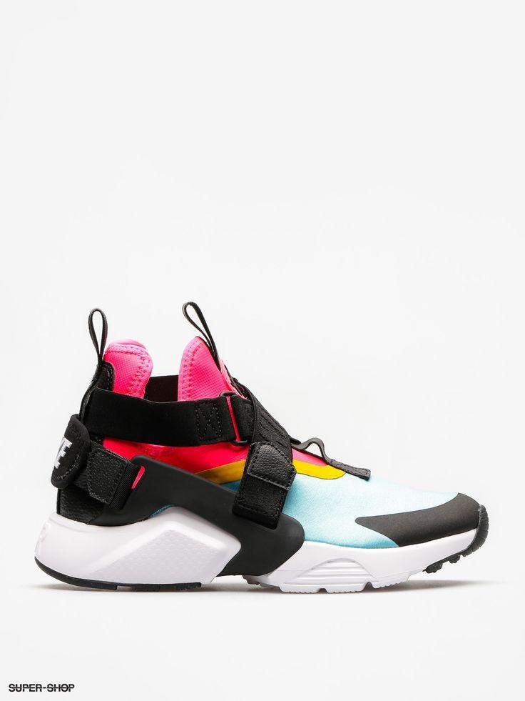 Nike Shoes Air Huarache City Wmn (bleached aqua/black racer pink)