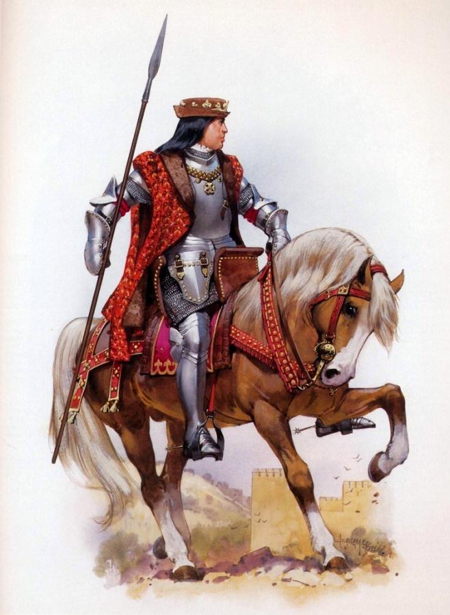 Spanish King Ferdinand V The Catholic.
