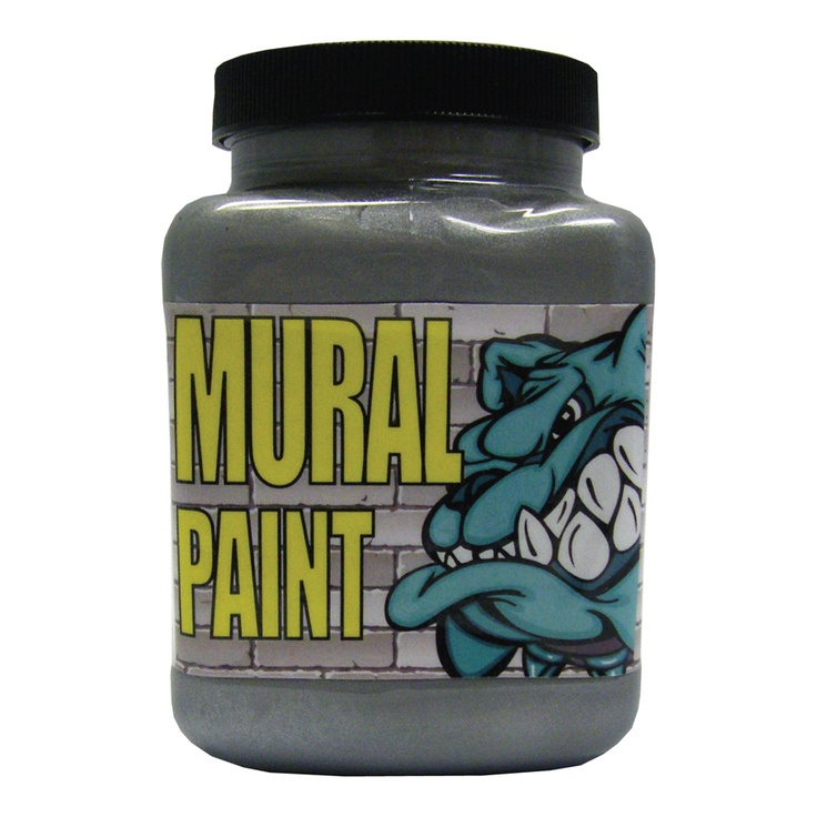 16 oz mural paint rock star chroma mural paint for Chroma mural paint