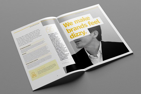 35+ Beautiful Modern Brochure & Folder Design Ideas 2014 | Design
