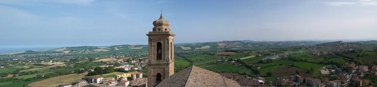 #attaccoallatorre #Invasionidigitali  dal mare alle colline, passando per il campanile della Chiesa Collegiata di Sant'Elpidio a Mare!