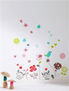 58 stickers fille thème Cha'pouss, Chambre Bébé