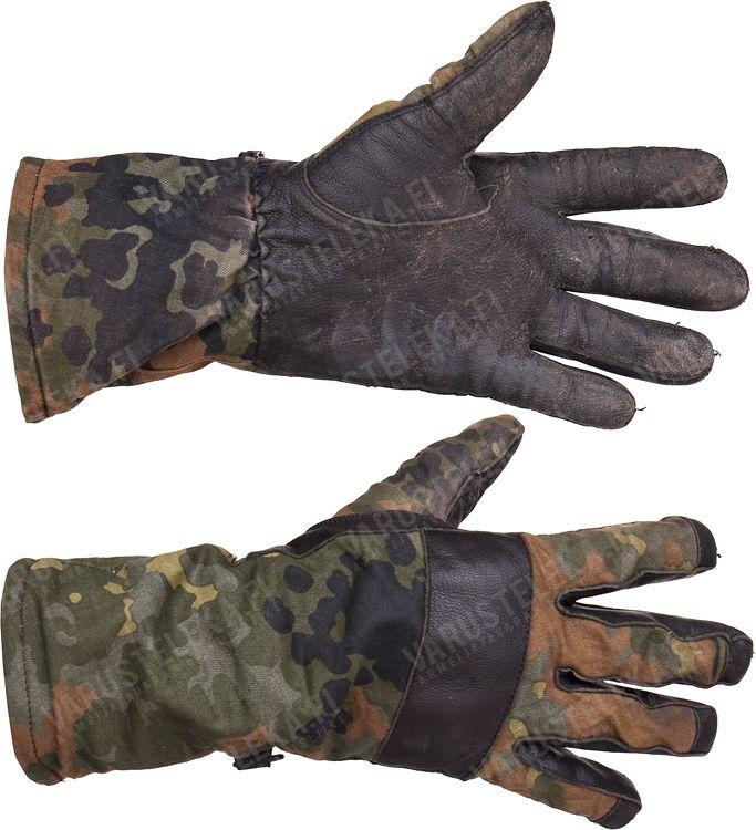 BW combat gloves, Flecktarn, surplus 12.99 CAD