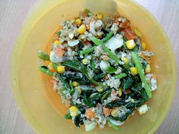Oatmeal Sayur