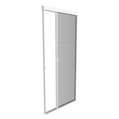 Phantom screens diy viewpoint retractable door screen for Accordion retractable screen doors
