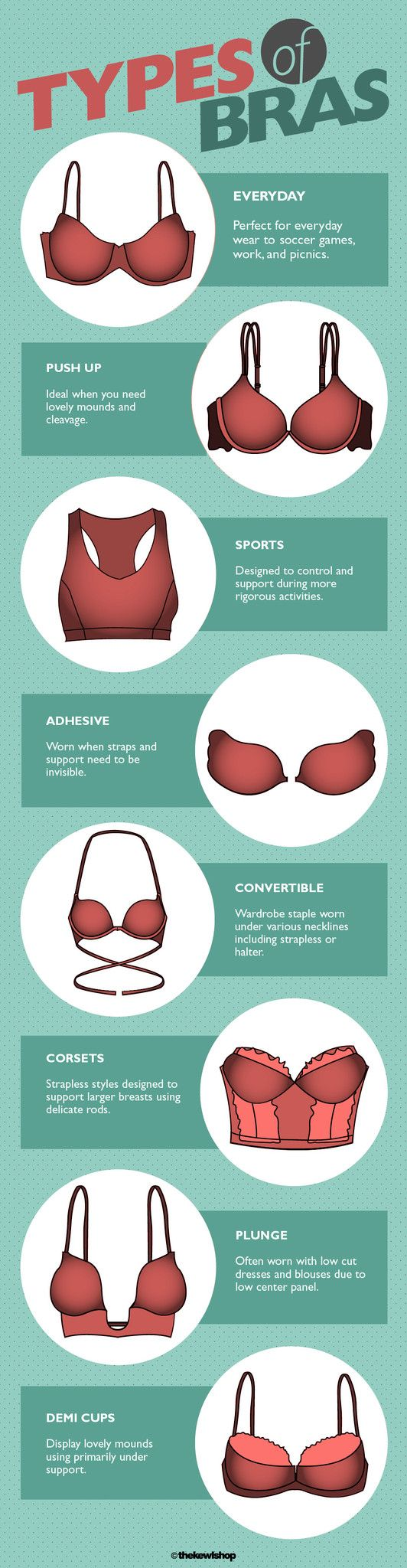 The best solution for finding the right bra size and style is to build a complete bra collection. Expensive? Perhaps. Worth the investment? Absolutely. When you slowly begin to build a complete bra collection you begin to see your clothing differently and with more confidence. The right bra has the ability to make or break any outfit and a well supported bustline is not just part of achieving celebrity like shape and style it is becoming a fashionista requirement.