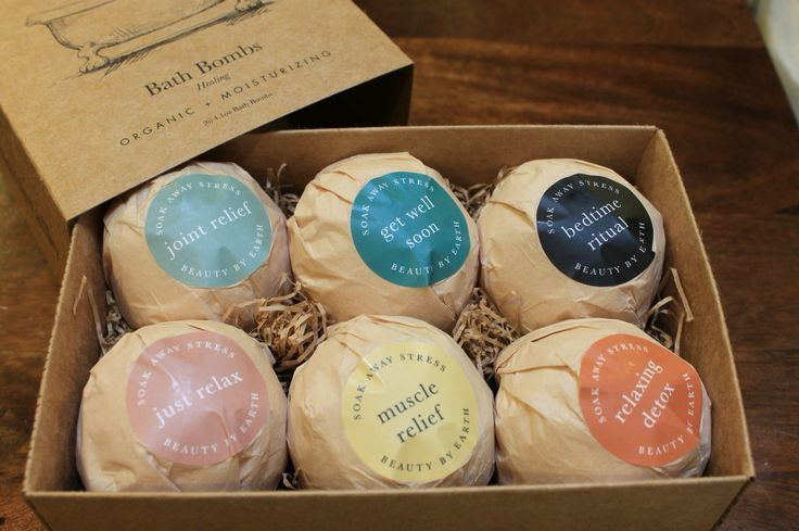 Bath bomb packaging ideas for later