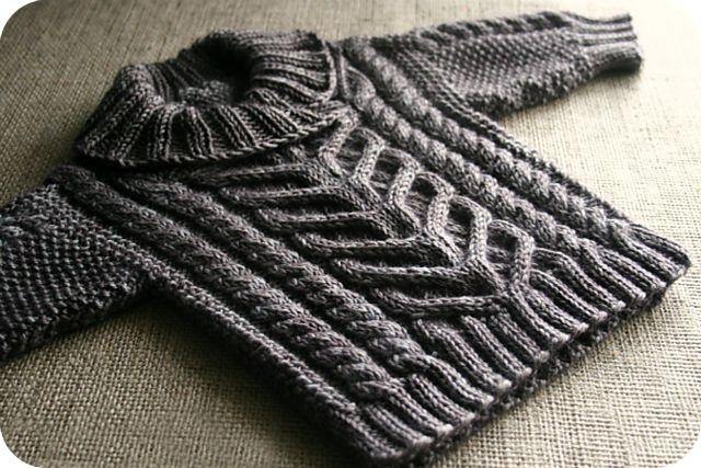Ravelry: nevernotknitting's Fisherman's Pullover