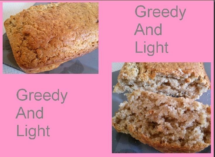 Cake aux flocons d'avoine & amandes