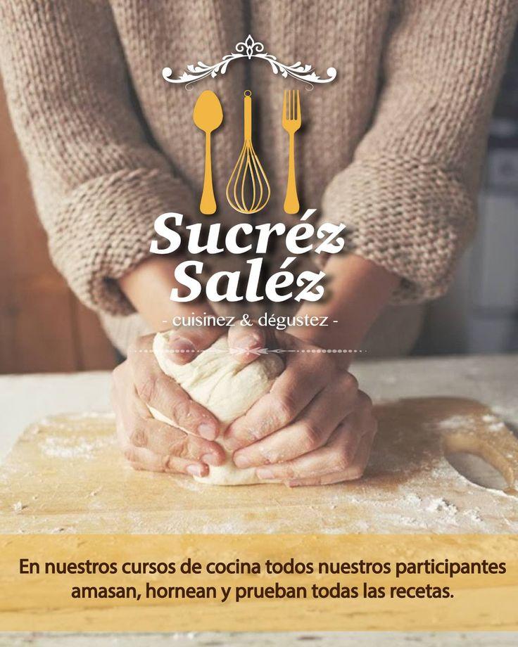 En nuestros cursos de cocina todos nuestros participantes amasan, hornean y prueban todas las recetas.