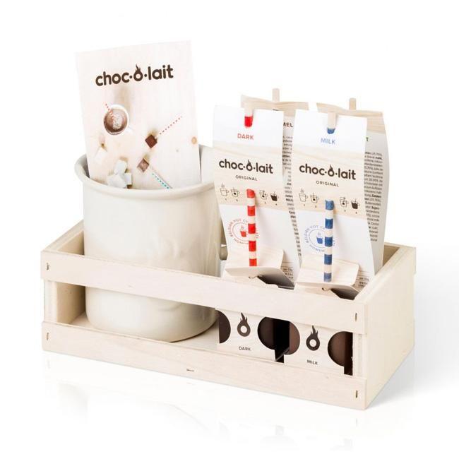 Choc-O-Lait Geschenkdoosje met Tas