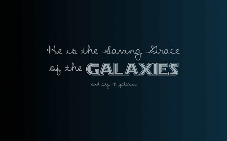 Best owl city quote jesus is the saving grace of the galaxies - Owl city quotes ...