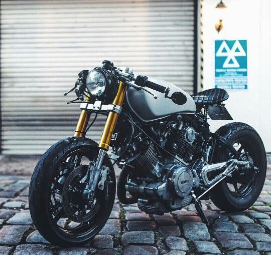 Yamaha XV750 Cafe Racer | Repin by caferacerpasion.com