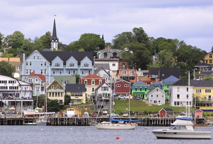 Lunenburg Harbour - Haven syfy show location