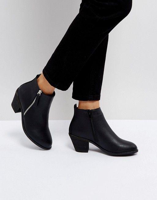 846d64eeb32e Office Anita Heeled Ankle Boots