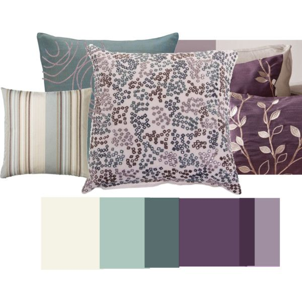 mauve teal, created by #bakshideep on #polyvore. interior design