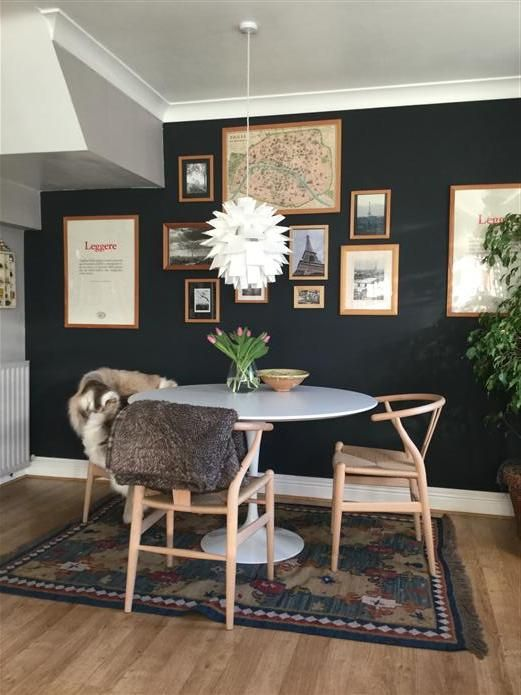 10 Dining Rooms That Went Over To The Dark Side (In a Good Way) - The Chromologist