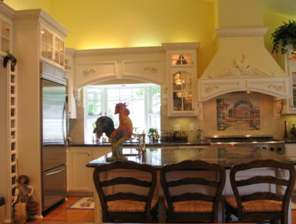 Good Chic And Inviting French Country Kitchen Interiors Gallery