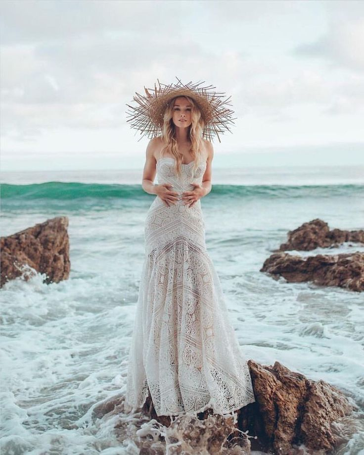 """@ido_events_: """"The days at the beach are gone and I already long for the sea • Doesn't this capture awaken all the…"""" wedding gown"""