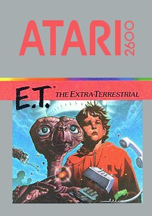 E.T. for the Atari 2600.  I never could figure out this game but I loved to play it.