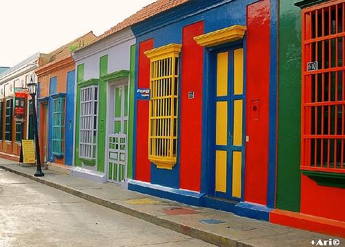 Maracaibo city, Venezuela, were I live.
