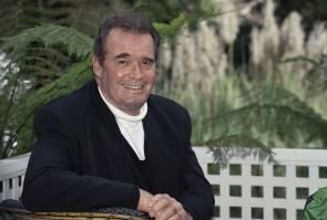 """James Garner, seen in 2009 file photo taken in Los Angeles, stars as RJR Nabisco CEO F. Ross Johnson in the upcoming HBO film """"Barbarians at the Gate""""."""