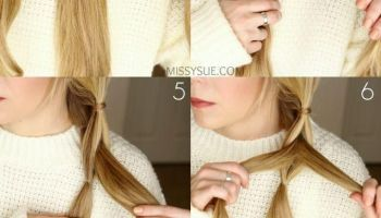 Pull Through Side Braid Tutorial #braid #Pull #Side #tutorial