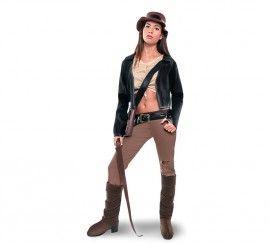 Disfraz de Arqueóloga aventurera para mujer