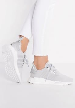 adidas Originals - NMD_R1 - Trainers - metallic silver/white