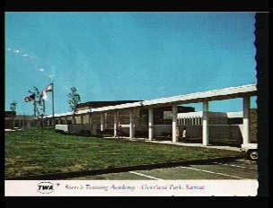 Breech Adademy ~ Overland Park ~ TWA Training Facility for Flight Attendants from 1969 - 1988.: Airline Memories, Three Airlines