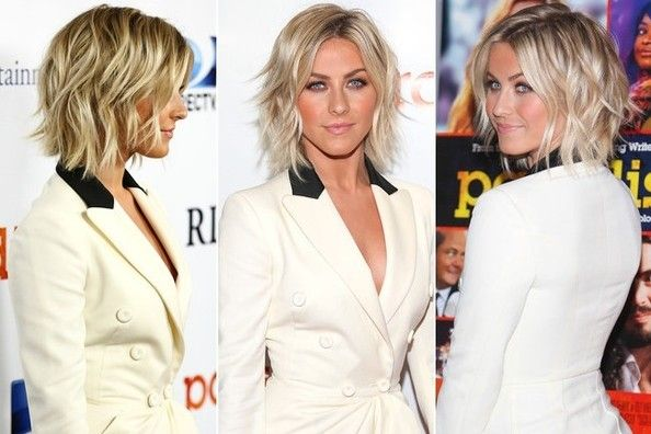 Here's Why Julianne Hough's Wavy Lob is The BEST Haircut of 2013. (Plus, How to Get the Look!) - Hair Ideas - StyleBistro