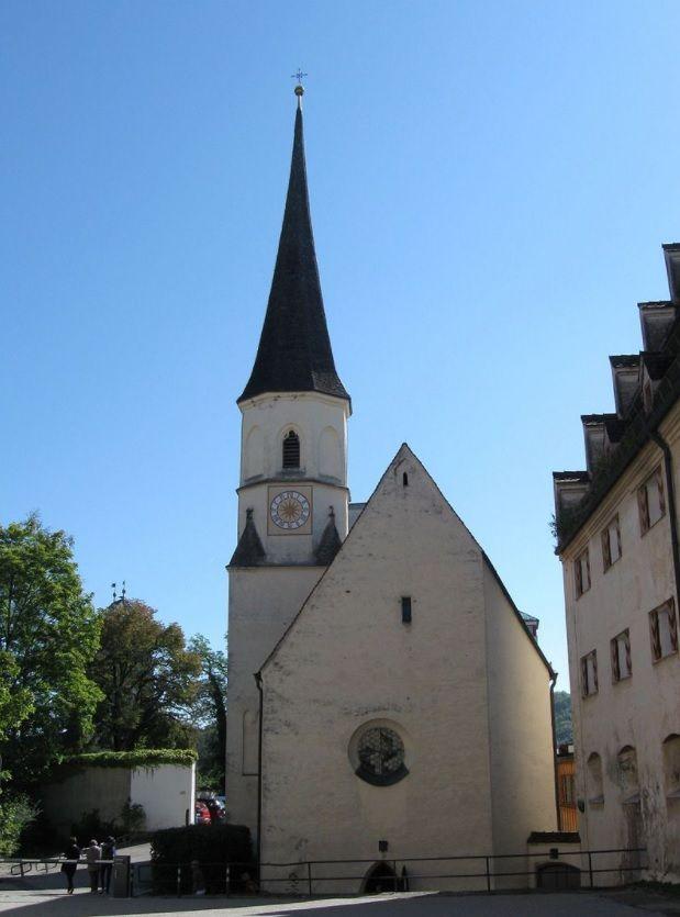 Wasserburg am Inn, Burgkapelle St. Ägidius