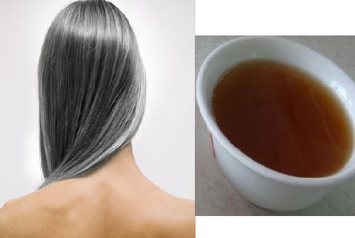 Tea water can turn white hair into black Black hair turns into white naturally and no one likes it especially when you are young but it doesn't mean that you can't reverse it. There are many natural ways to turn white hair into.....