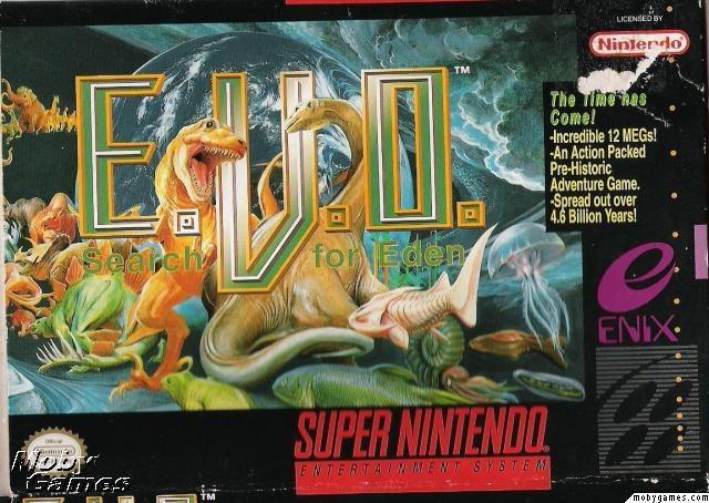 E.V.O. best game! :)